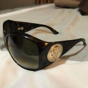Vintage Gucci Tortoise Shell Sunglasses